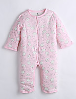 Baby Casual/Daily Print One-Pieces,Cotton Winter Long Sleeve