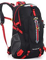 40 L Randonnée pack / sac à dos Camping & Randonnée / Voyage Extérieur Multifonctionnel Vert / Rouge / Noir / Bleu / Orange Nylon