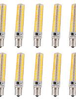 15W E14 Ampoules Maïs LED T 136 SMD 5730 1200-1400 lm Blanc Chaud / Blanc Froid Gradable / Décorative V 10 pièces