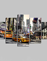 Unframed Canvas Print Landscape Modern,Five Panels Canvas Any Shape Wall Decor For Home Decoration