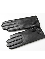 (NOTE - M YARDS) LEATHER GOAT HAIR WITH THICK GLOVES