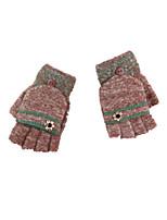 automne et le tricot d'hiver laine gants sac chaud doigt
