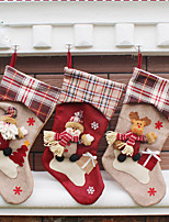 1Cover) (différents styles) ornement maison newfangled bas de noël décorations de noël