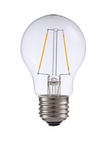 2W E26 LED Filament Bulbs A17 2 COB 200 lm Warm White Dimmable 120V 1 pcs