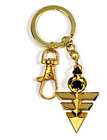 Inspired by Yu Gi Oh Yugi Muto  Anime Cosplay Accessories Keychain Golden Alloy