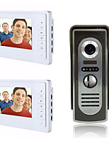 800 x 480 92 CMOS Doorbell System Wired Photographed  Multifamily video doorbell