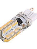 5W G9 Luces LED de Doble Pin T 80 SMD 3014 350-450 lm Blanco Cálido / Blanco Fresco Regulable / Decorativa V 1 pieza