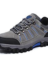 Sneakers Men's Anti-Slip Wearable Outdoor Low-Top Breathable Mesh Nubuck leather Climbing Hiking