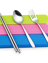 Acier inoxydable 304 Set Cuillères / Fourchettes / Chopsticks