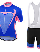 WOLFKEI Summer Cycling Jersey Short Sleeves BIB Shorts Ropa Ciclismo Cycling Clothing Suits #24