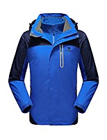 Camel Men's Interchange 3-in-1 Active Outdoor Sports Jacket Windbreaker Color Blue/Green/Orange/Grey