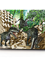 3D Black Dinosaur Pattern MacBook Computer Case For MacBook Air11/13 Pro13/15 Pro with Retina13/15 MacBook12