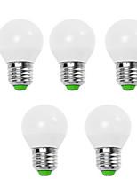 5W E14 / E26/E27 LED Globe Bulbs G45 12 SMD 2835 560 lm Warm White / Cool White Decorative V 5 pcs