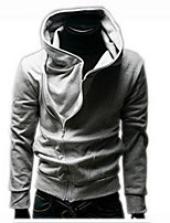Autumn And Winter New Korean Slim Oblique Zipper Men'S Long-Sleeved Sweater