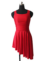 Ballet Dresses Women's / Children's Training Nylon / Lycra Criss-Cross 1 Piece Sleeveless Dress