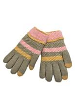 (Note - menthe cachemire vert tricot gants de doigts pleins)