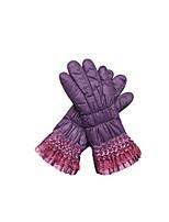 (note - violet) dames hiver chaud gants de vélo en plein air