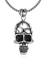 Necklace Jewelry Halloween / Daily Unique Design / Dangling Style / Punk Style / Hip-Hop Stainless Steel Men 1pc Gift Silver