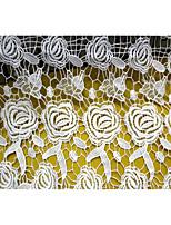 White/100cm/Cotton/Jacquard/Mesh/Fabric