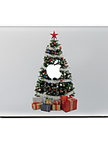 The Christmas Tree And Gifts Decorative Skin Sticker for MacBook Air/Pro/Pro with Retina
