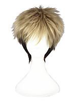 Cosplay Wigs KILL la KILL Aika S. Granzchesta Brown Short Anime Cosplay Wigs 30 CM Heat Resistant Fiber Unisex