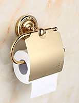 Toilet Paper Holder / Gold20*12*8 /Brass /Contemporary /20 12 0.45