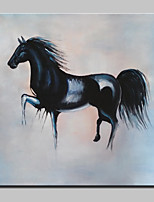 100% Hand-Painted Horse Animal Oil Painting On Canvas Modern Abstract Wall Art Picture For Home Decoration Ready To Hang