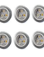 6W GU5.3(MR16) Spot LED MR16 3 LED Haute Puissance 560 lm Blanc Chaud / Blanc Froid V 6 pièces