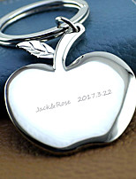 Chrome Keychain Favors-1 Piece/Set Keychains Personalized Silver
