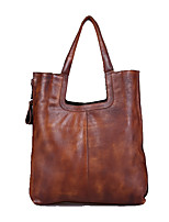 Women Cowhide Casual / Outdoor / Office & Career Carry-on Bag