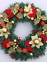 Christmas Wreath Gold Ornament 50cm