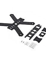 210mm 3K Full Carbon Fiber Mini FPV 4-Axis Quadcopter Frame Rack with PDB