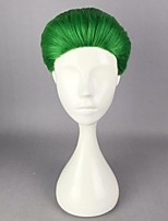 Anime Joker Green 30cm Short Synthetic  Hair Heat Resistant  Party Halloween Cosplay Costume Wig