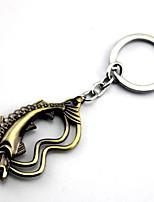 Mehre Accessoires Inspiriert von Game of Thrones Cosplay Anime Cosplay Accessoires Schlüsselanhänger Gold / Silber Legierung