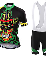WOLFKEI Summer Cycling Jersey Short Sleeves BIB Shorts Ropa Ciclismo Cycling Clothing Suits #17