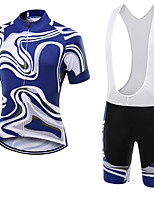 WOLFKEI Summer Cycling Jersey Short Sleeves BIB Shorts Ropa Ciclismo Cycling Clothing Suits #03