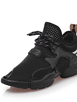 Women's Sneakers Others Tulle Outdoor Casual Athletic Black Green White Fuchsia