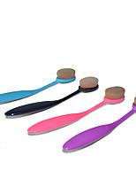 1 Pincel para Base / Contour Pincel / Pincel para Blush / Pincel para Pó Pêlo Sintético Profissional / sintético / Portátil Plástico Rosto