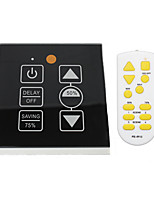 With Memory Delay Knob-Type Stepless Dimmer Infrared Remote Control 86 Model 500WLED SCR Dimmer