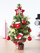New Mini Christmas Tree Ornaments Party Dolls House Party Miniature Decor 32*12Cm