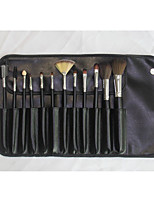 12 Makeup Brushes Set Synthetic Hair / Others Professional / Portable Wood Face / Eye / Lip Others