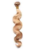 1PC TRES JOLIE Body Wave Human Hair 10-18Inch Strawberry Blonde Color 27 Human Hair Weaves