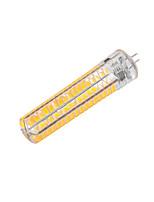 ywxlight® G4 dimmable 15W 136 SMD 5730 1200-1400lm חמים / קריר לבן AC 110 / 220V