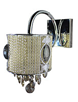 Wall Sconces Natural White Crystal 1 pcs