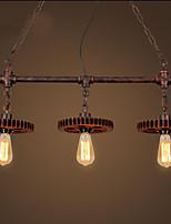 40W מנורות תלויות ,  מסורתי/ קלאסי צביעה מאפיין for סגנון קטן מתכת חדר שינה / חדר אוכל / חדר עבודה / משרד / חדר ילדים / מסדרון / מוסך