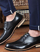 Men's Oxfords Others PU Casual Black / Brown / Red