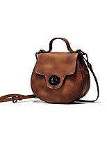 Women Cowhide Casual / Event/Party / Office & Career Shoulder Bag