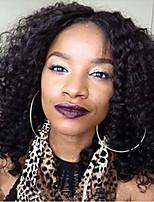 8а курчавые курчавые бесклеевой фронта шнурка человеческих волос парики 100% перуанского парики человеческих волос для женщин