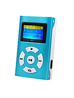 colorido 16gb 200 horas ostentam estéreo jogadores digital mp3 player de música vedio hi-fi