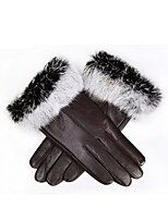 (NOTE - SAW DARK BROWN DOUBLE COLOR HAIR) MS ELECTRIC GLOVES